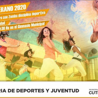 Verano zumbero en Cutral Co
