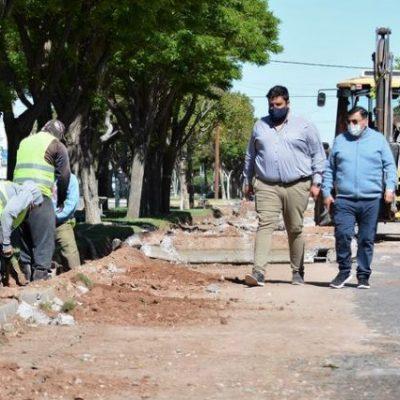Rioseco proyecta para este 2021 continuar la obra pública