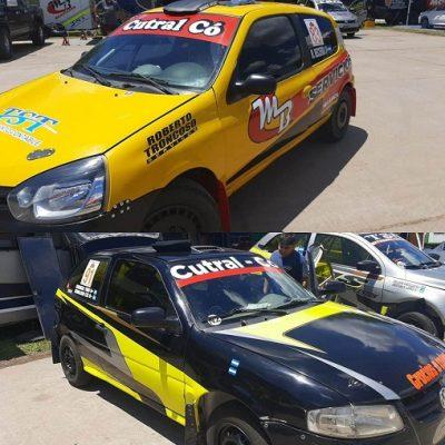 Dos binomios locales en el Rally de San Luis