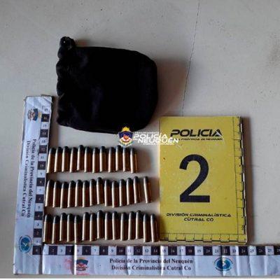 Detenido con 42 balas en su camioneta
