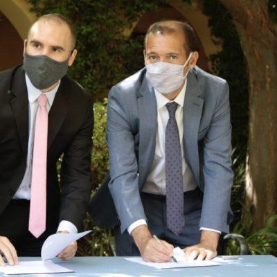 Tras la visita, funcionarios de Nación comprometieron dos obras viales