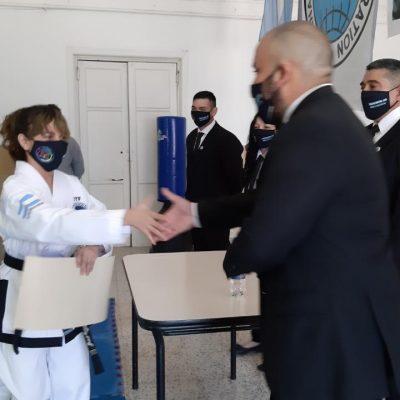 Julieta Álvarez, la joven de 13 años que alcanzó el grado internacional