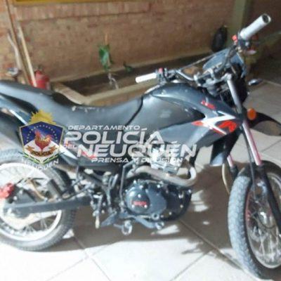 Recuperaron moto robada