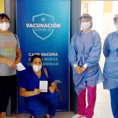 Enfermeros de Copelco también recibieron vacuna contra el COVID-19