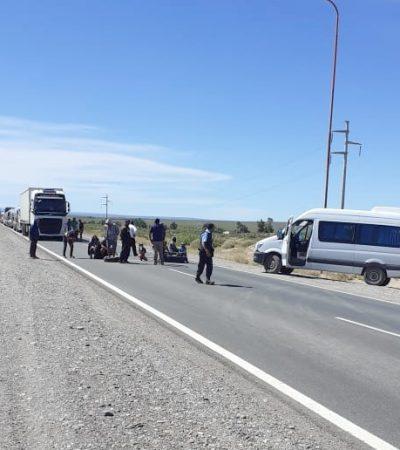 Desocupados de Cutral Co cortan la ruta 22 en Huincul