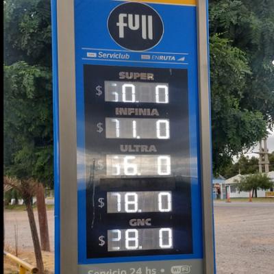 Nuevo aumento de combustibles ya se nota en la comarca