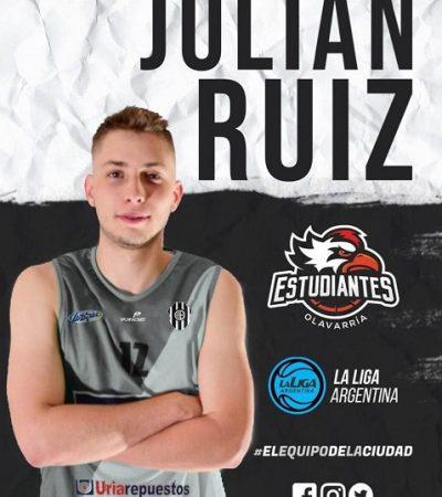 Estudiantes sumó al Ex Pérfora, Julián Ruiz