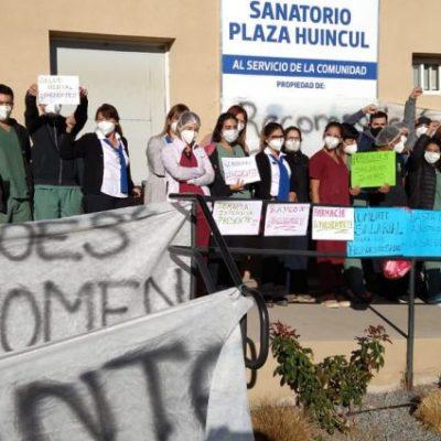 Los trabajadores del Sanatorio fueron llamados a conciliación obligatoria