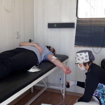 Buscan más donantes de sangre para el Hospital