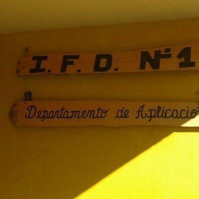 Comenzó la inscripción en el IFD 1
