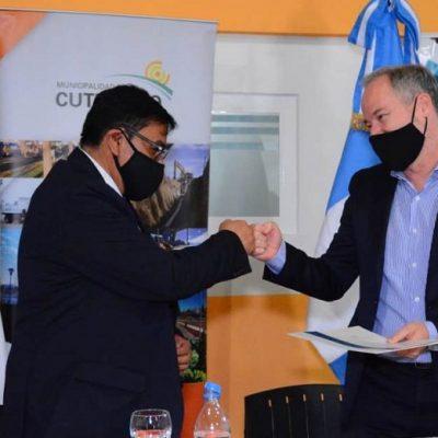 Cutral Co firmó acuerdo para recibir asistencia técnica en temas sociales