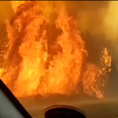 Doloroso testimonio de vecino afectado por el fuego en Chubut