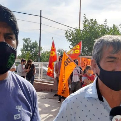 Trabajadores del Hospital en contra del acuerdo salarial de ATE