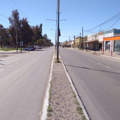 Robo a mano armada en plena avenida San Martín