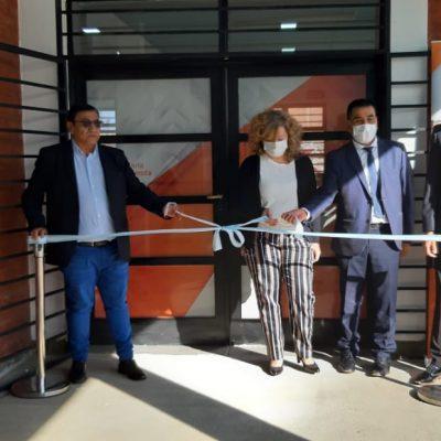 La Municipalidad inauguró una extensión de cajas en la terminal de ómnibus