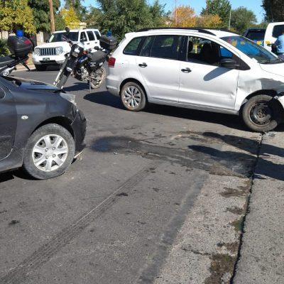 Accidente sin heridos en Perniseck