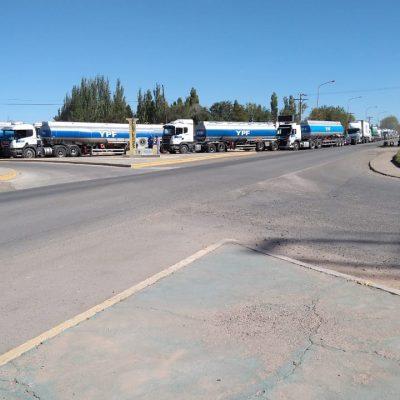 Camiones pudieron entrar a cargar combustible a la refinería