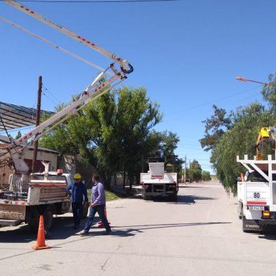 Corte programado de energía en el Zani y Libertador San Martín