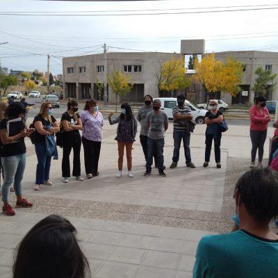 Los trabajadores de salud de la comarcan adhieren al paro este miércoles