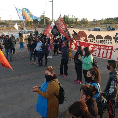 Marcha en apoyo a salud