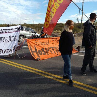 Trabajadores cortarán la Ruta 22