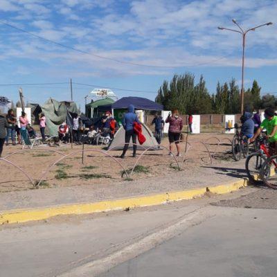 Levantaron el corte en Plaza Huincul