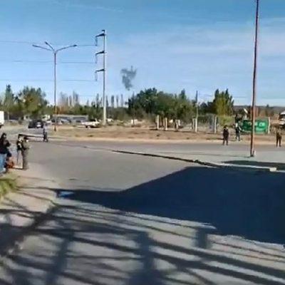 El repudiable video de un camionero