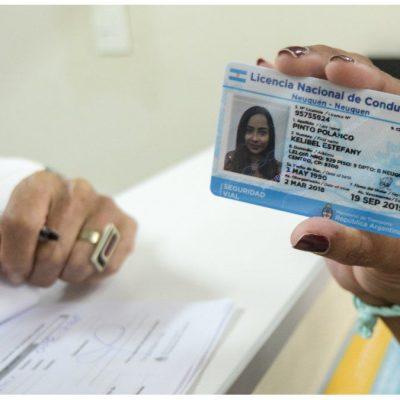Tránsito de Plaza Huincul está dando turnos para renovar licencias