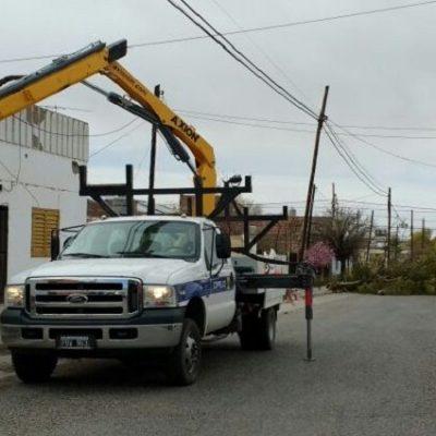 Corte no programado para reparar cableado dañado