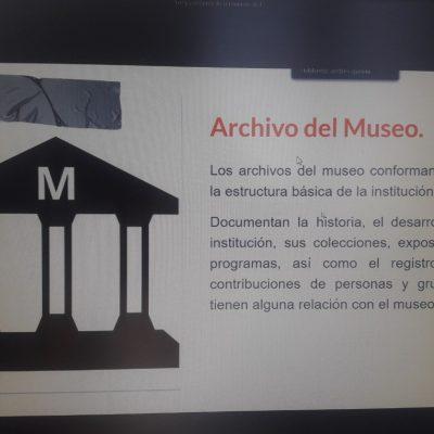 """Personal de Archivo Histórico de Huincul participó del taller """"Los Documentos del Museo"""""""