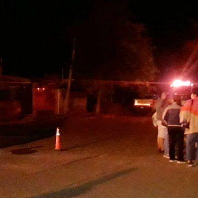 Evacuaron a vecinos de la calle Córdoba