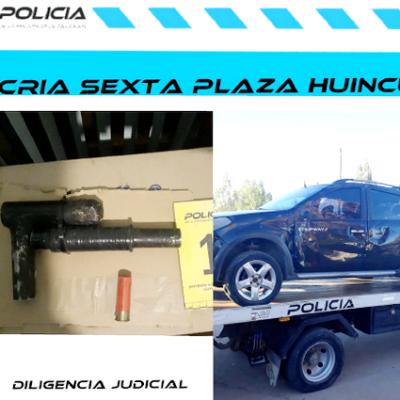 Detenidos con varias dosis de droga y armas de importante calibre