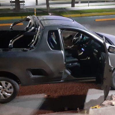 La policía secuestró un revolver y un vehículo durante un patrullaje