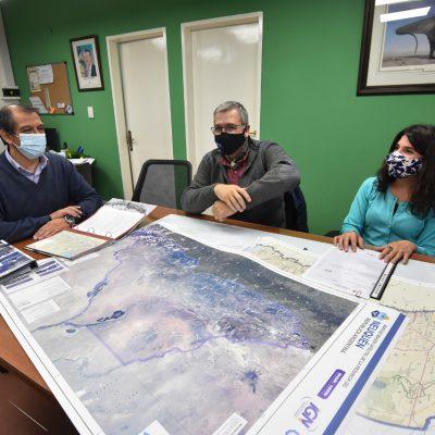 Huincul firmó convenio con catastro de provincia para agilizar y regularizar trámites
