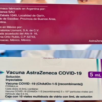 Llegaron 3 mil vacunas de Astrazéneca a la provincia