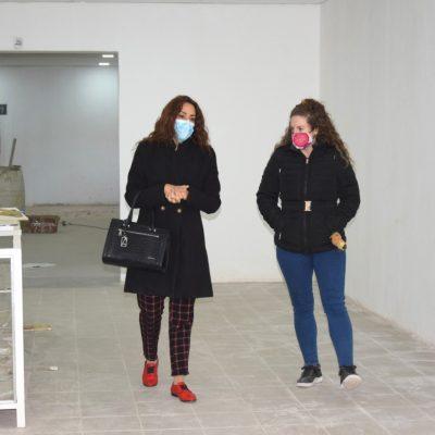 Avanzan las refacciones en el museo Carmen Funes