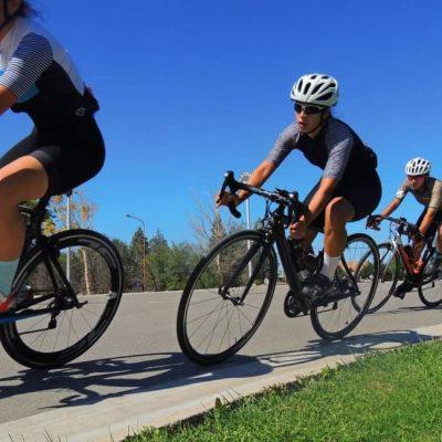 Ciclista local busca integrar el 1er equipo de damas del país