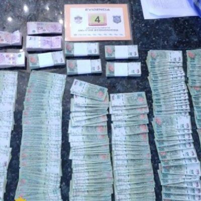 Detenido con más de 500 mil pesos de una estafa