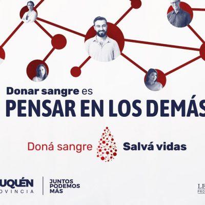 Donar sangre es pensar en los demás