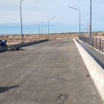 El Puente está en la última etapa de ejecución