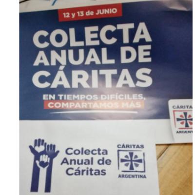 Cáritas de Plaza Huincul invita a donar