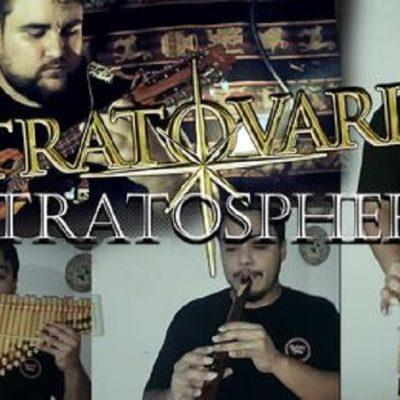 Rodrigo Bullhoes la rompe con otro cover de metal en Charango
