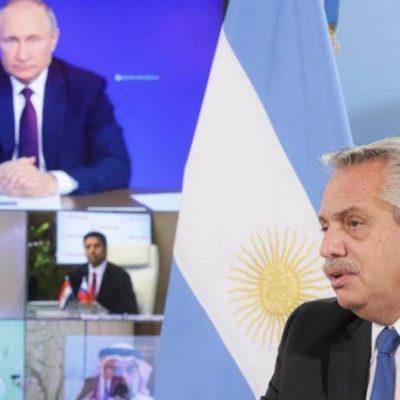 Los presidentes Fernández y Putin oficializaron la producción de la Sputnik V en el país