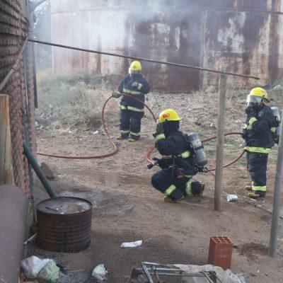 Incendio en Filli Dei Sur