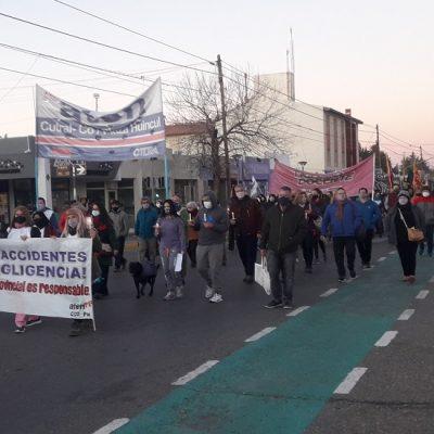 Marcharon por justicia para Mónica Jara
