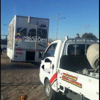 Detenidos manejando vehículos de carga luego de beber