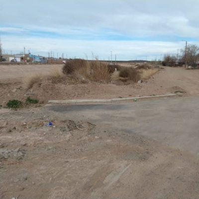 Vecinos de Rivadavia al final se quejaron por falta de limpieza y obras