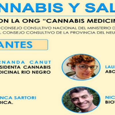 """Invitan a la charla: """"Cannabis y Salud"""""""