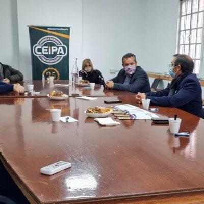 El Intendente de Huincul se reunió con representantes de la Cámara CEIPA