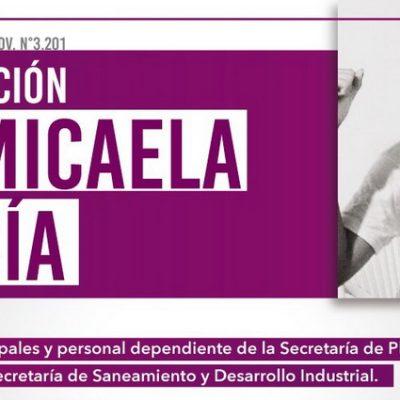 Continúa la capacitación en Ley Micaela a trabajadores municipales